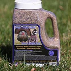 Gobble and Whistle Seed Blend turkey wild game birds food plots
