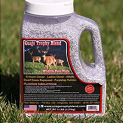 Osage Trophy Blend Seed Blend deer food plots